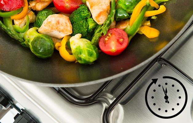 Звуковое оповещение готовности блюд в кухонных плитах